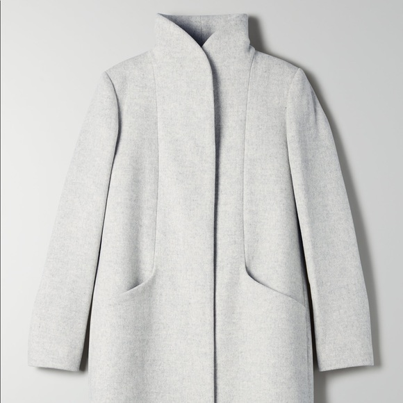 Wilfred's Cocoon Wool Coat in Size Small
